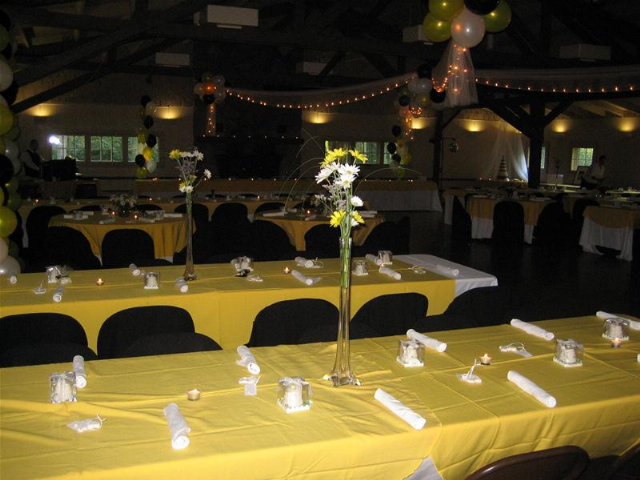 Reception at Pattison Park