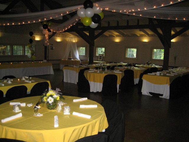 Pattison Park Wedding Reception