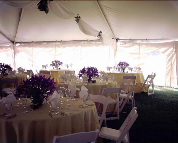 Wedding Reception on a Private Farm
