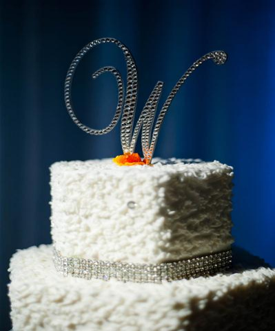 Custom cake toppers add glitz to your day